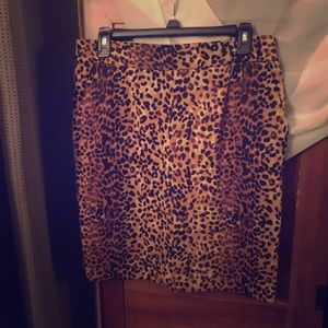 Cheetha Print Skirt